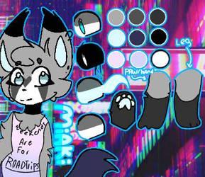 2018||miakis new reference sheet|| by Nightdreamwolf12