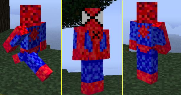 Homem Aranha - MineCraft by BrunWalker