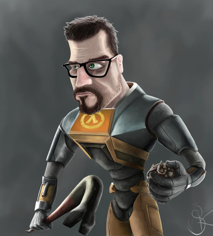 freeman caricature by sanspeak
