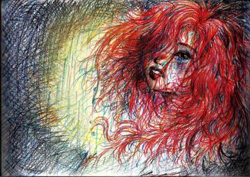 A deep melancholy... by Rosa-Lynda