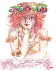 Delicate Rose by Rosa-Lynda