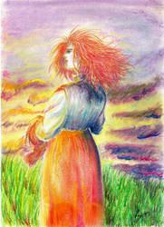 On the horizon by Rosa-Lynda