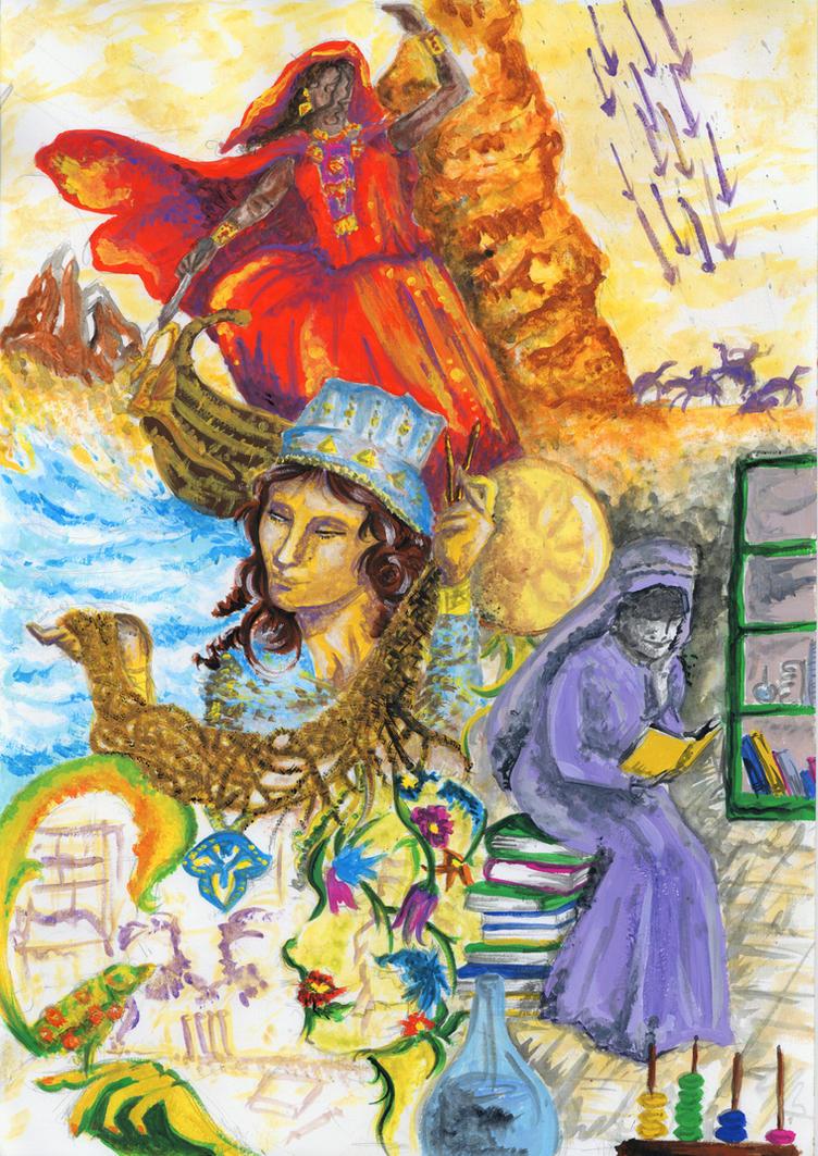 Building a History by Rosa-Lynda
