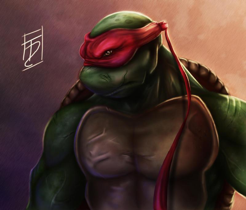 Teenage Mutant Ninja Turtles - Raphael by Trance-Sephigoth