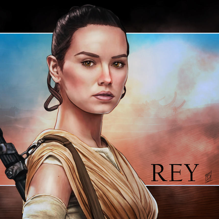Rey - Star Wars: The Force Awakens by Trance-Sephigoth on ...