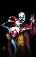 The Joker and Harley Quinn - Alex Ross Tribute
