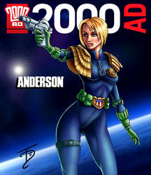 Judge Anderson - 2000AD Competition Entry