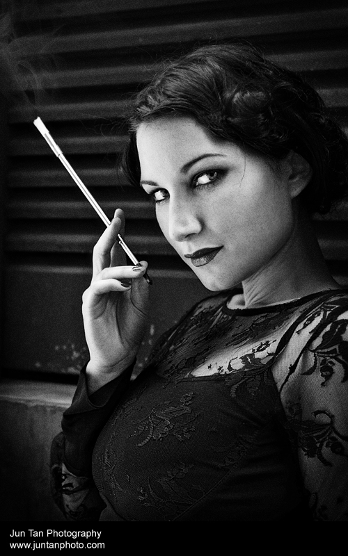 1920s Chicago Inspired Shoot3 by xynthian