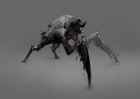 monster (work in progress) by 2blind2draw