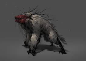 beast (work in progress) by 2blind2draw