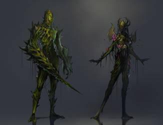 feywild - plant race for sigantium by 2blind2draw