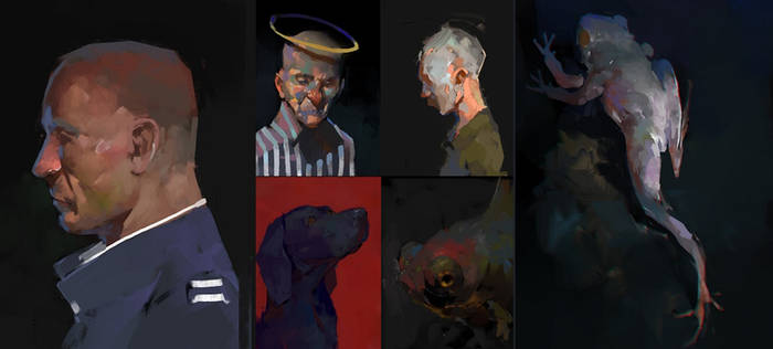 painterly doodles