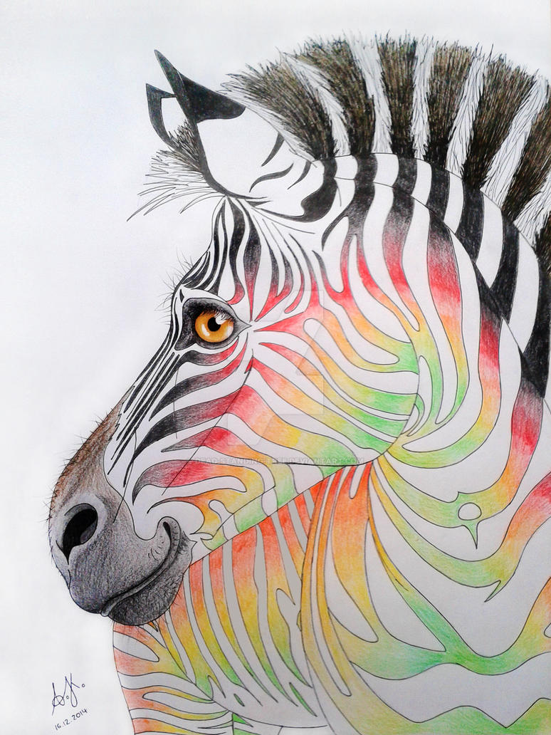 Zebra by Dead-Standing-Tree