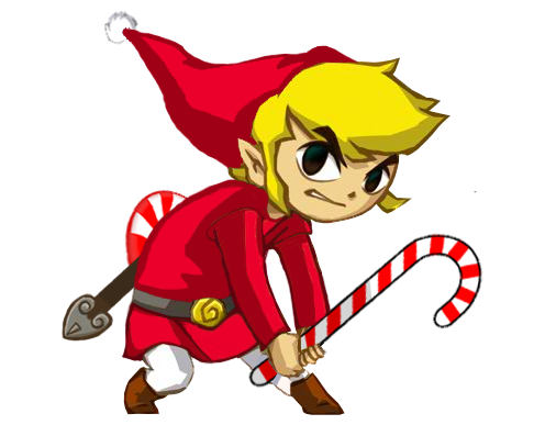 Christmas Toon Link by BryceLPs on DeviantArt
