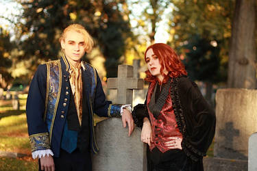 Lestat and Armand by my-savage-garden