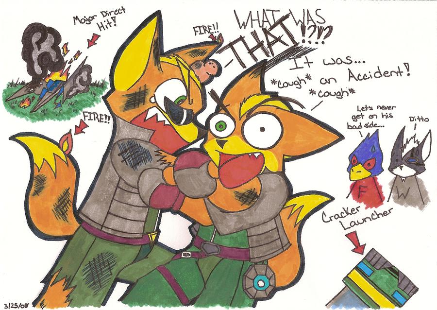 star fox wallpaper. Direct Hit by *StarFox-Saiyan
