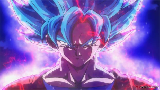 Goku Super Saiyan Blue using Ultra Instinct !