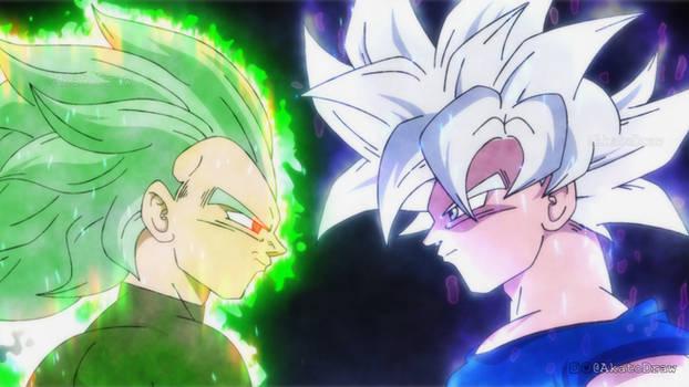 Ultra Instinct Goku vs Granolah