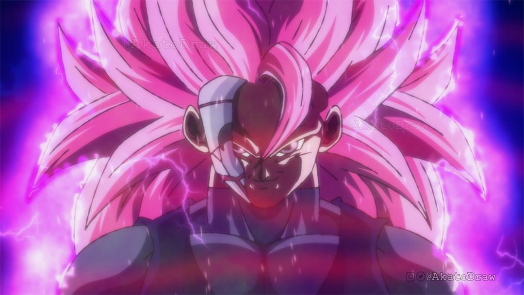 Goku Black Super Saiyan 3 Rose Dragon ball heroes