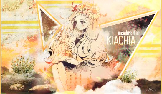 Membre Or Juillet Kiachia by PutriEI