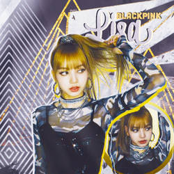 {HEADER} BLACKPINK - Lisa by PutriEI