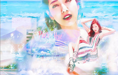 Park Shin Hye Summer Time by PutriEI