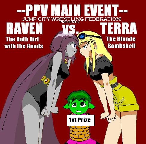 foto de Raven Vs. Terra by BluSerenity by Raven-Fans on DeviantArt