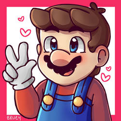 Mario loves you by Bkuey24