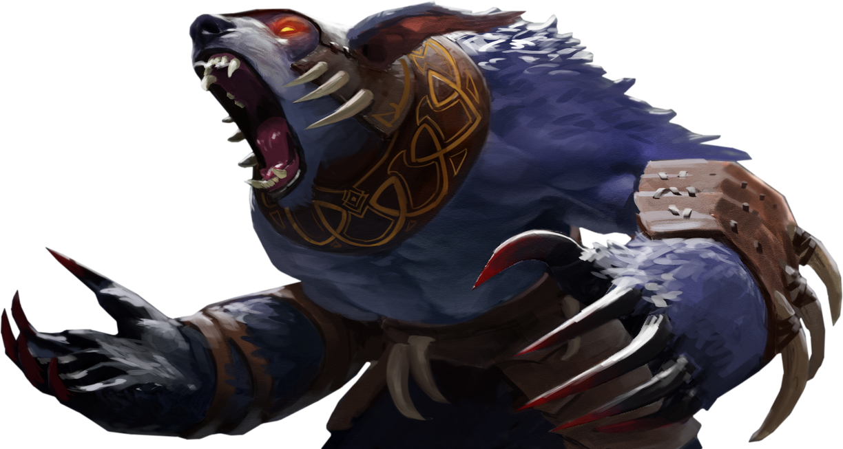 ursa render from dota 2 by stinky tech on deviantart