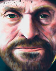 Willem Dafoe. Detail.