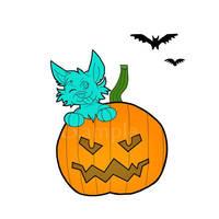 Simple Halloween YCH (open)