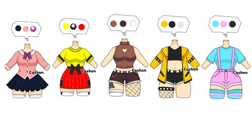Outfits Adopt : OPEN 3/5