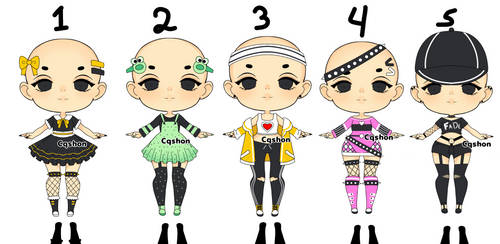 Random Outfits Adopt : Open 5/5
