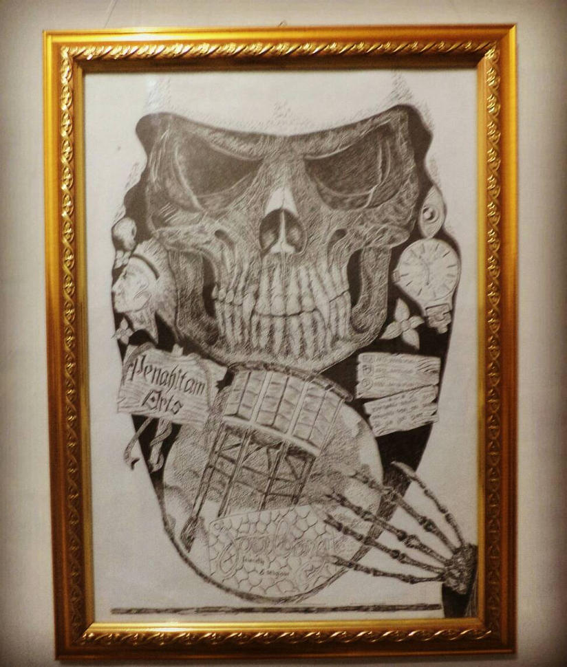 skull poster by rianprakasa