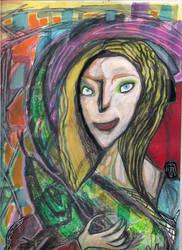 Me, Myself and my iguana by HelMortART