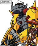 [Digimon x KanColle] Taishou WarGreymon