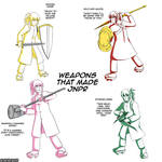 Weapons that made JNPR