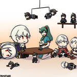 [FE Heroes] Lyn and her Robin Plushies