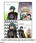 Byleth Meets Grima and Fallen Corrin