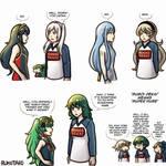 FE Avatars and Sugoi Dekai