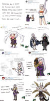 Female Robin Doodle Compilation