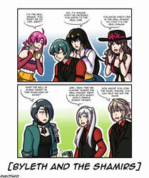 Byleth and the Shamirs