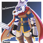 [FE x Digimon] IkeGarurumon