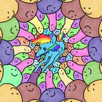 Her favorite type of ice cream is rainbow dash