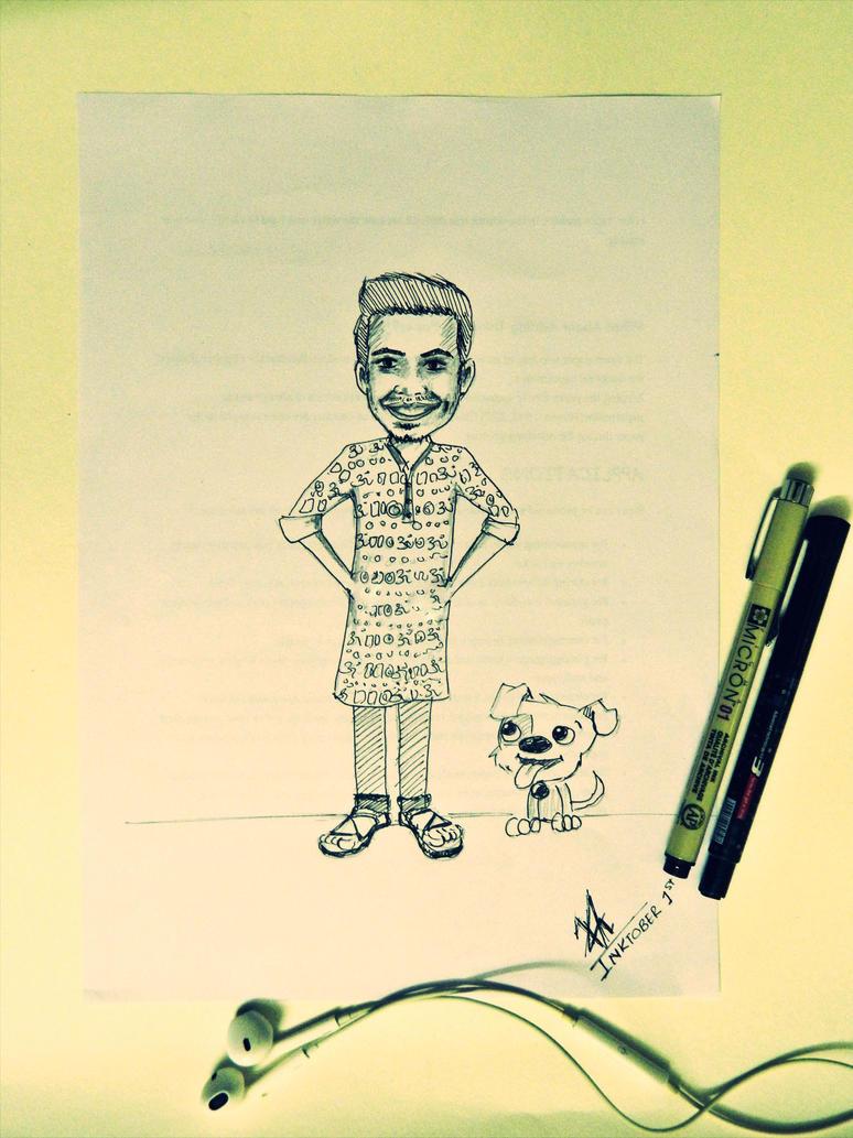 #INKtober 1 by Vishal010818