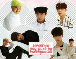 Seventeen Png Pack by baekhyunism