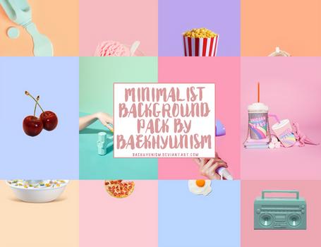 Minimalist Background Pack