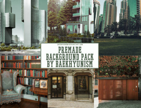 PREMADE BACKGROUND PACK by baekhyunism