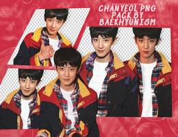 [PNG PACK] CHANYEOL FOR TOMMY HIFILGER by baekhyunism