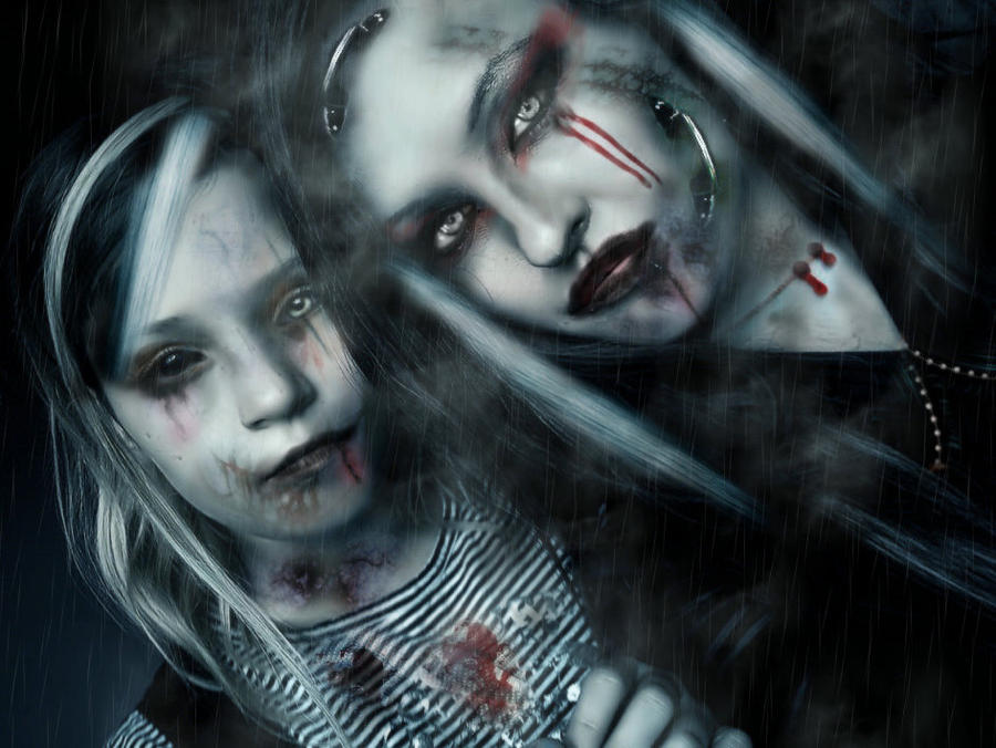 gothic girls wallpaper by - photo #22